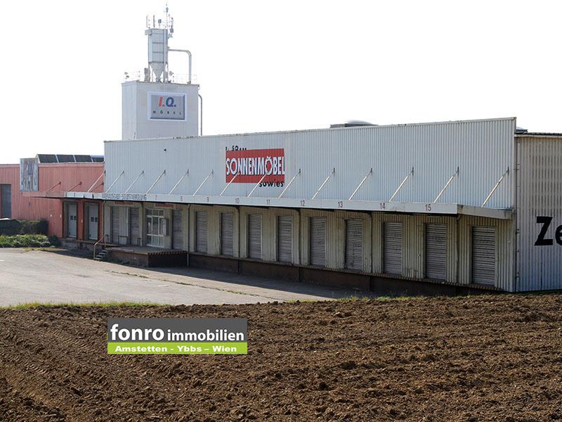 Große Lagerhalle in Persenbeug-Gottsdorf